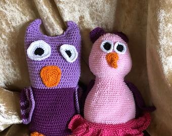 "Owl Couple ""SuSE & Louis"""