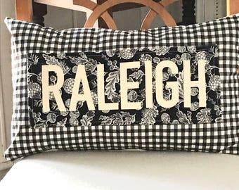 Hometown pillow, Hometown gifts, Housewarming pillow, realtor gift, custom pillow