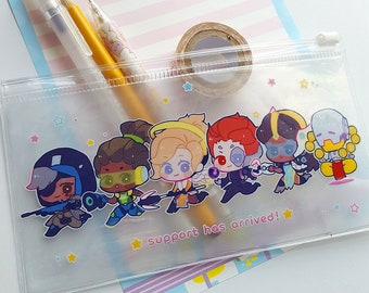 Overwatch Support Clear Pouch