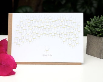 Golly Family - You are special greeting card
