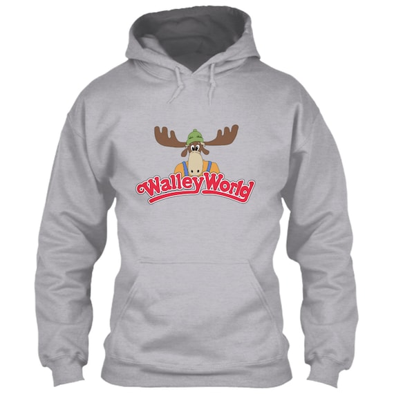 Walley World Hoodie National Lampoon's Vacation Gray Grey Size S M L XL 2XL 3XL 4XL 5XL Marty Moose Clark Grizwold Grizwald Wally Film Movie E6yto