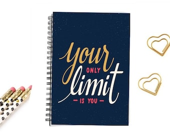 spiral notebook journal inspirational quotes