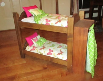 "Doll Bunk Bed for American Girl or any 18"" Doll"