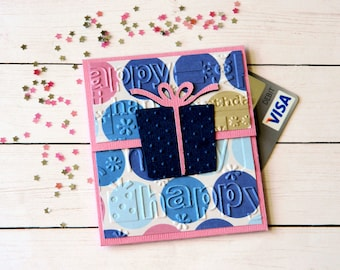 Birthday Money Gift - Gift Card Holders - Mom Bday Gift - Wife Birthday - Bestfriend Gift - Sister Birthday Gift - Gift For Boss Woman