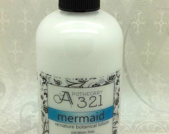 Mermaid Re:Nature Botanical Vegan Lotion Natural Paraben Free Lotion