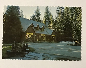 Postcard Union Creek Resort Oregon VTG Color Crater Lake National Park