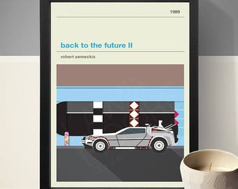 Back To The Future II Inspired Movie Poster