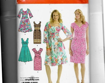 Simplicity Misses' Dress With Bodie and Skirt Variations Pattern 3774