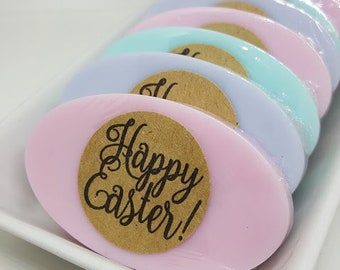 Easter Soaps - Mini Soaps - Soap Gifts - Guest Soaps - Happy Easter Soaps - Guest Soap Gift - Easter Gift - Easter Soaps Favors