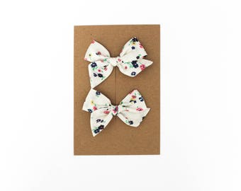Mini Pinwheel // Dixie Pigtail Set