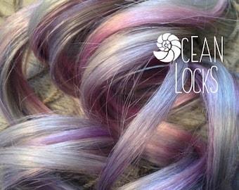Moonlight Hair Extensions, Hair extensions clip in, Ombre hair extension, Pastel hair , Grey Hair, Lavender Hair, Silver Hair