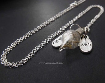 """I wish you peace in your heart , necklace and 20"""" Sterling Silver chain ."""
