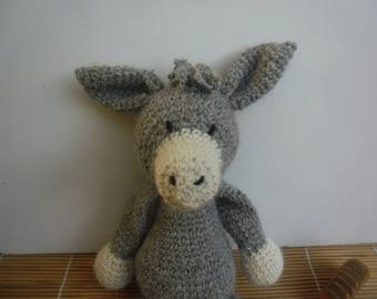 Plush Toy DONKEY crochet
