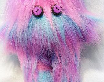 Guardian Monster Doll - Blue & Pink