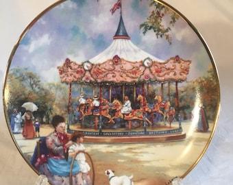 Franklin Mint Carousel Daydreams
