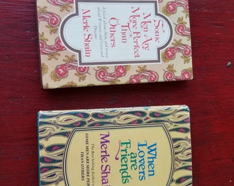 Two First Edition Merle Shain books