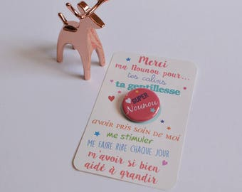 Nanny card Badge