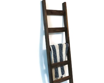 6 ft Decorative Ladder, Rustic Country style  - JustKnotWood