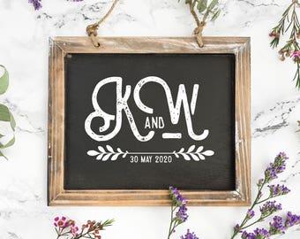 Wedding Logo Design • Wedding Monogram Design | Personalized | Ready Made | Custom | Rustic | Modern