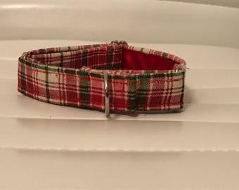 "1"" wide martingale  Christmas  collar"
