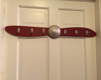 Airplane Propeller Coat and Hat Rack