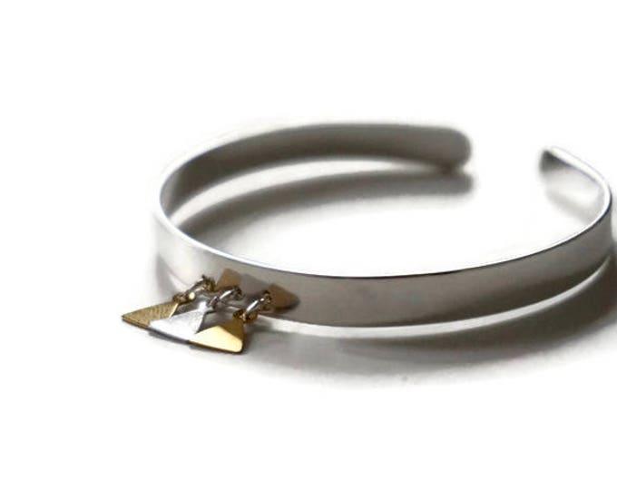Silvery Metal Bagan bracelet
