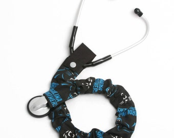 Stethoscope Cover, Stethoscope Accessories, Nursing Student, Nurse, Doctor, Medical Instruments, Carolina Panthers Football, NFL Team Sport