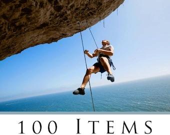Bucket List, 100 items