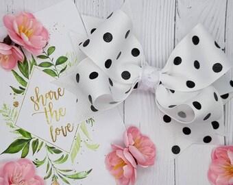 Boutique - Polka Dots - Ribbon Collection - Black Polka Dots, Silver Polka Dots, Gold Polka Dots