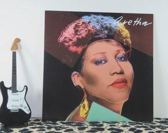 Aretha Franklin - Aretha, vintage LP