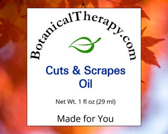 Cuts and Scrapes Oil