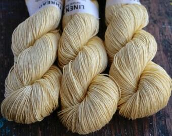 Linen yarn - 4-ply - fingering -- 007