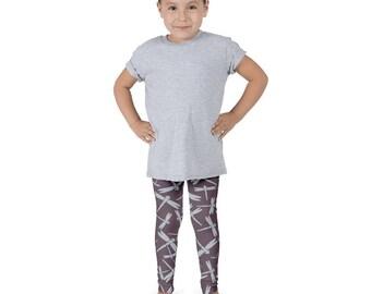Dragonfly Leggings, Toddler Leggings, Girls Leggings, Boys Leggings, Kids Leggings, Bohemian Boy Leggings, Boho Pants, Bohemian Toddler