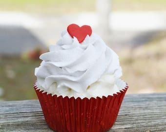 Valentines Cupcake (fake)
