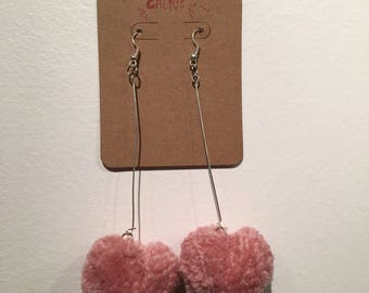 Pink, Red and Multi Pom Poms