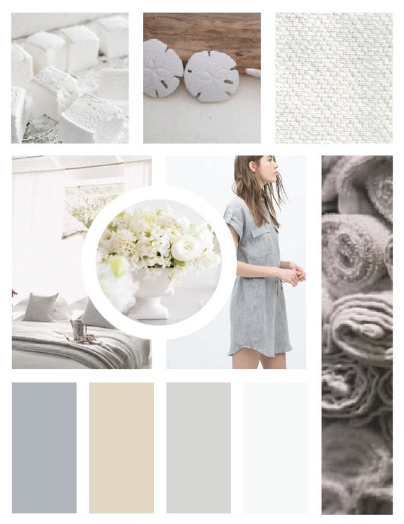 MOOD BOARD TEMPLATE : for brand designers - photoshop template ...