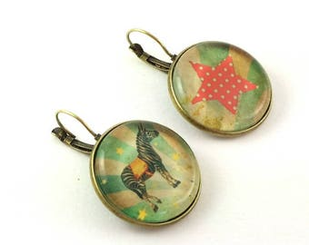Earrings # my little circus # large size