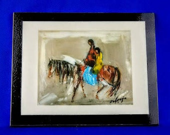 A Ride Home by Ted DeGrazia
