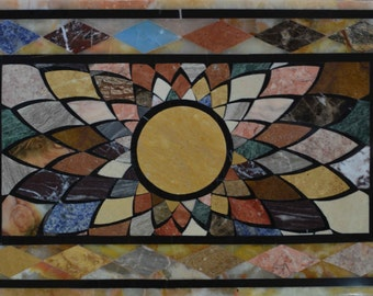 Stone Art Mosaic  - Peloponnese Florals