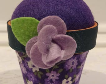 Flower #1: Stick-It-To-Me! Pin Cushion
