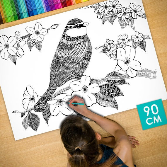 Coloring poster (35 in) B...