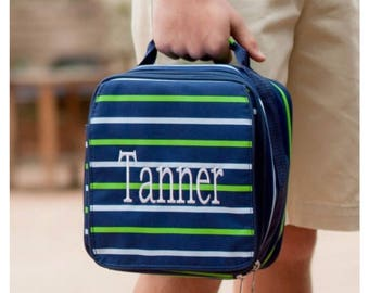 Monogrammed Lunchboxes