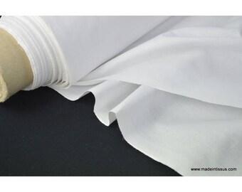 Toile à draps coton blanc . x 1m