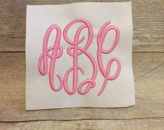 Classic Monogram Font, Classic Monogram Embroidery Font