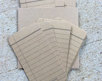 Kraft Mini Memos - Note Sheets for List Making, To Dos, Note to Self - Use w/ Erin Condren Planner, Filofax, Journal, Travelers Notebook