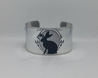 Jackalope Cuff Bracelet