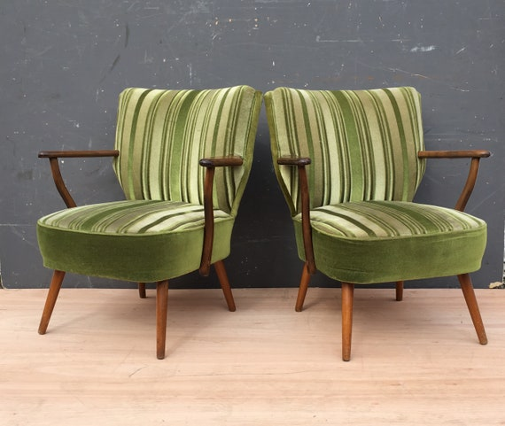 Vintage 1960's West German Cocktail Chairs