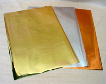 Transfer Foil - Simple and Easy to Use - Arts and Crafts, Mixed Media, Handmade Cards, Collage, Scrapbooking, ATC