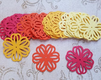 Die Cut Flowers. #MT-35