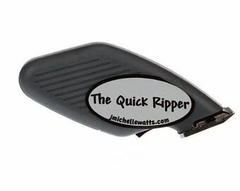 Quick Seam Ripper, Electric Seam Ripper - J Michelle Watts Designs - Battery Powered, electric - Gray